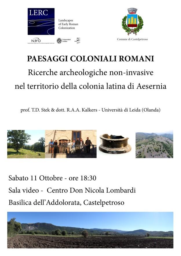 LERC Project presentation Castelpetroso