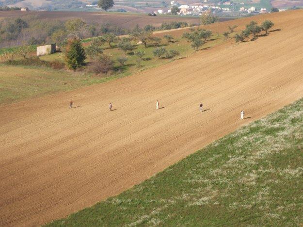 Field survey in the area of San Giovanni in Galdo 2005 (photo J. Pelgrom)
