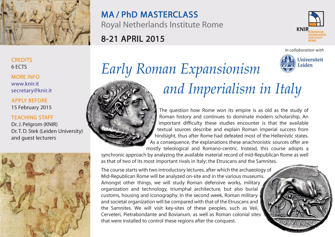 roman imperialism in the late republic essay Largely a consequence of athenian imperialism  roman empire and concept section review essay  late roman empire.