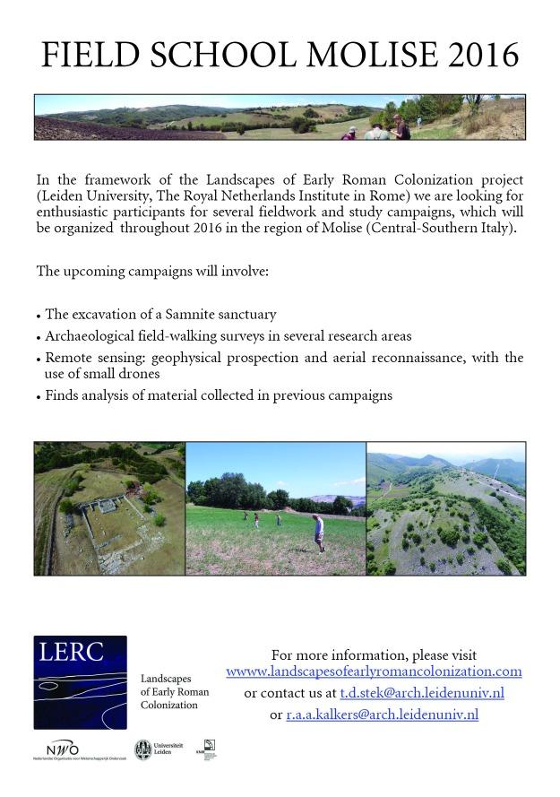 LERC fieldwork poster 2016