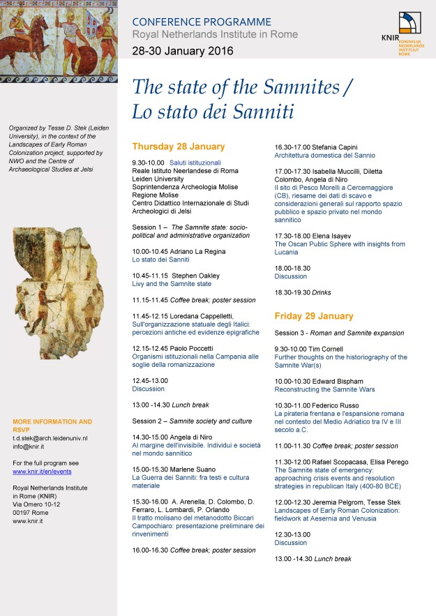 The_state_of_the_Samnites_conference_program_p.1